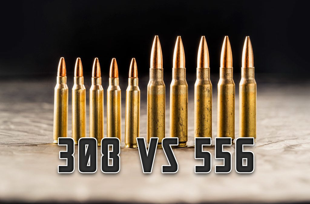 Caliber Comparison: Understanding the Difference Between 308 and 556