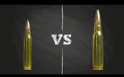 223 vs 308: Comparison of America's Modern Military Cartridges